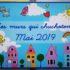 Inauguration de la fresque de la façade de l'école maternelle